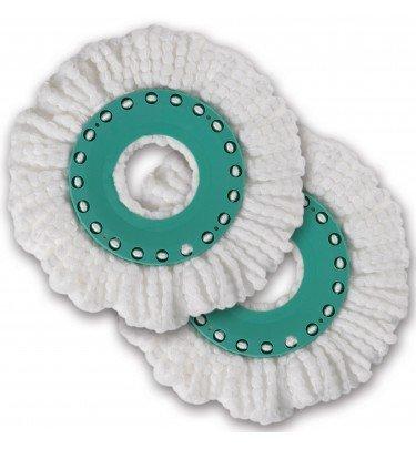 Ersatz-Moppaufsatz 2er-Set Wischmopp Easy Spin cleanmaxx Haushalt & Technik Mopp CHANNEL21