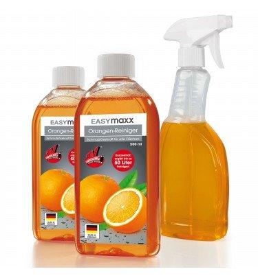 Orangenreiniger 3-tlg. 2x 500ml inkl. Sprühflasche cleanmaxx Haushalt & Technik Reiniger CHANNEL21