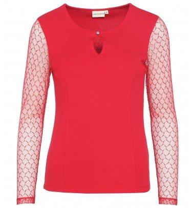 Shirt mit Spitze Sarah Kern Mode Shirt CHANNEL21
