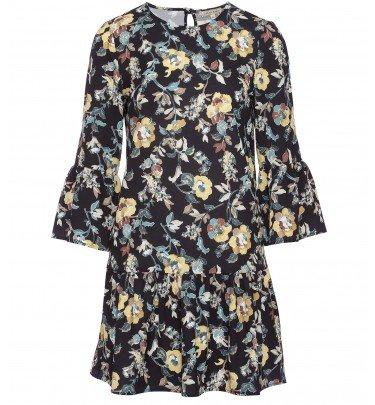 Kleid mit Volantärmeln - Mode - Sarah Kern - Marken