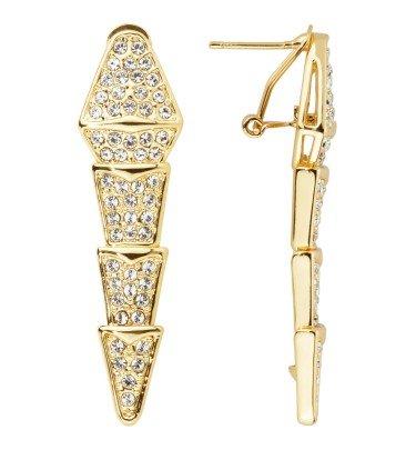 Ohrringe Queen Snake vergoldet Ricarda M. Schmuck & Uhren Ohrhänger CHANNEL21