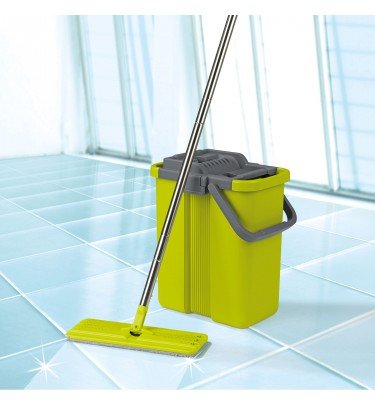 Wischsystem Komfort-Mopp cleanmaxx Haushalt & Technik Wischmopp CHANNEL21