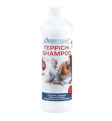 cleanmaxx Teppichshampoo 500 ml cleanmaxx Haushalt & Technik Teppich-Shampoo CHANNEL21