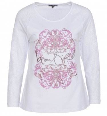 Shirt mit Ornamentdruck Christian Materne Mode Shirt CHANNEL21