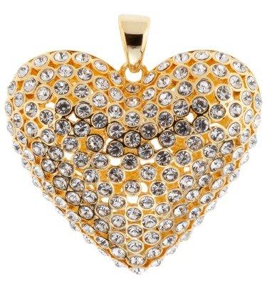 Anhänger Big Glam Heart Ricarda M. Schmuck & Uhren Anhänger CHANNEL21