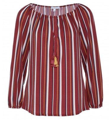 Streifenbluse Jersey