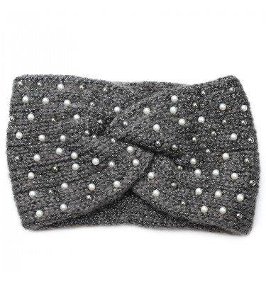 Stirnband mit Perlen