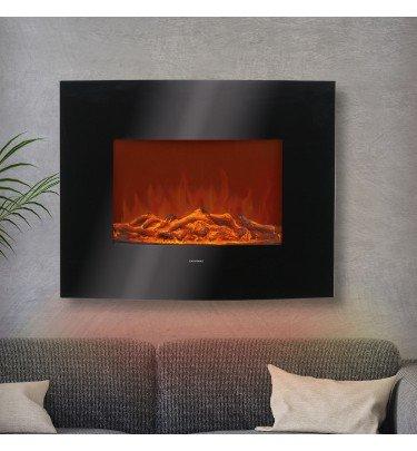 LED-Wandkamin mit LED-Flammen-Effekt