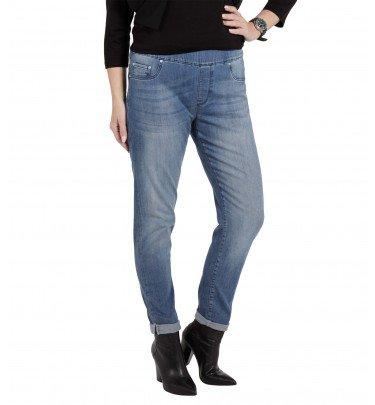 Push-up Jeans mit Bauch-weg-Bund