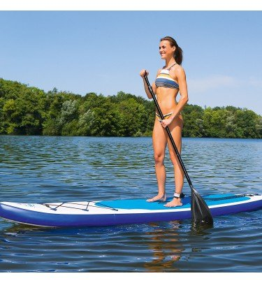 Stand-Up Paddle-Board 320 cm weiß/blau