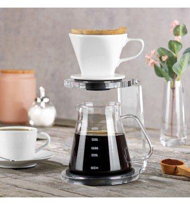 Kaffeebereiter Set Pour Over 3-teilig, 650 ml