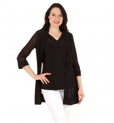 Trendy Cocktail Top & Chasuble