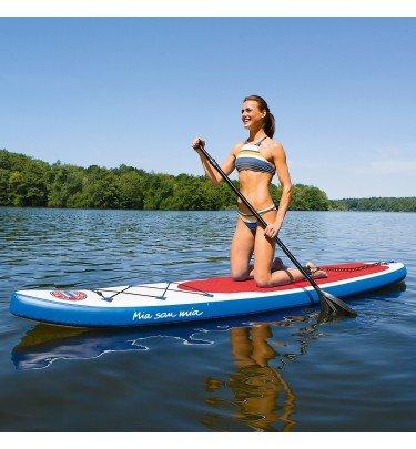 FCB Stand-Up Paddle-Board Mia san Mia mit Logo