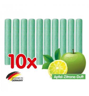 Duftsteine grüner Apfel-Zitrone, 10er Set