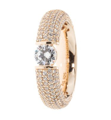 "Spann-Ring ""Brillant Forever"", 211 Zirkonia"