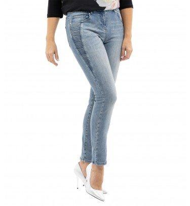 Jeans Perfect Lift mit Zierbiesen