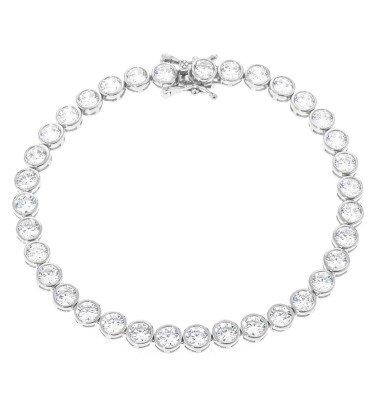 "Tennisarmband, ""Princess Deluxe"", Silber 925"