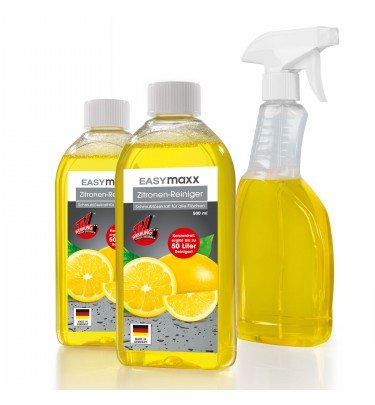 Zitronen-Reiniger Set, 3-teilig