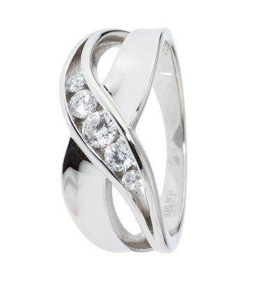 "Croisé-Ring ""Rendezvous"", Silber 925 poliert"