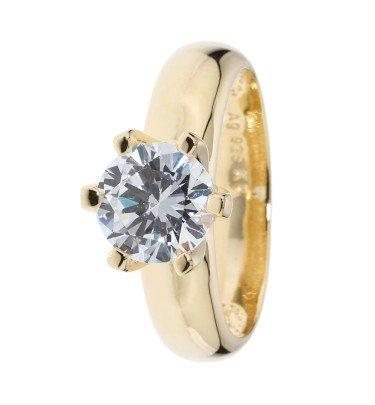 """Krönchen-Ring """"Pure Princess"""", Silber 925 poliert"""