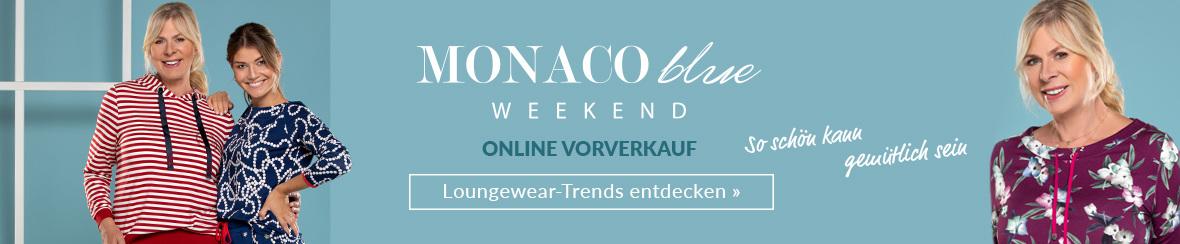 MONACO blue WEEKEND Vorverkauf