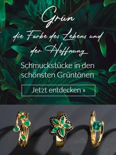 Shop the Look Schmuck Grün