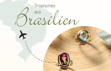 Schmuckweltreise Brasilien.