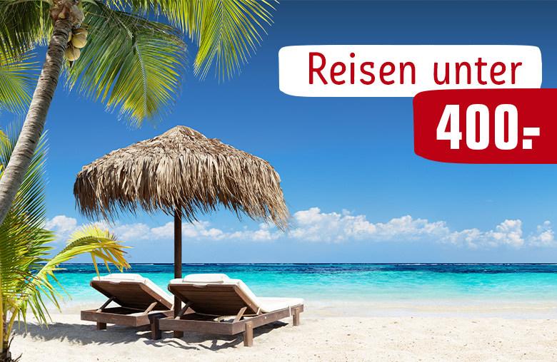 Rewe Reisen Unter 400 €