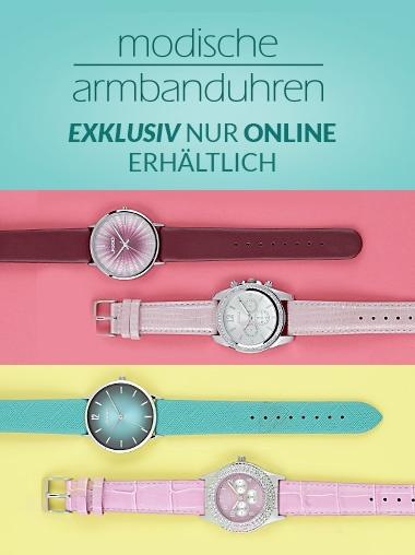 Modische Armbanduhren