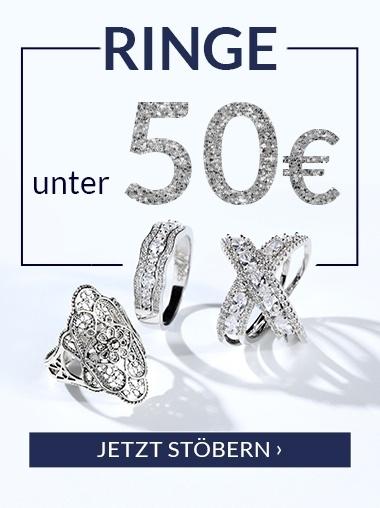 Ringe unter 50 Euro