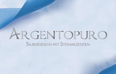 Argentopuro Silberdesign mit Steinakzenten.