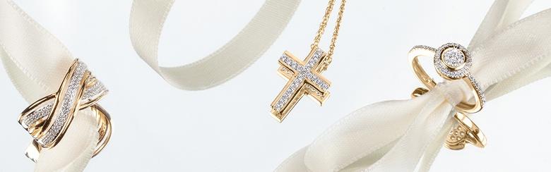DIAMONDS Forever Goldschmuck mit funkelnden Diamanten bei Channel21 entdecken.