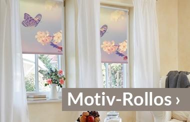Motiv-Rollo Fensterwelten