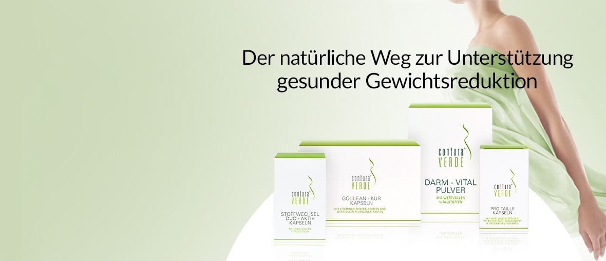 Markenbanner Contura Verde