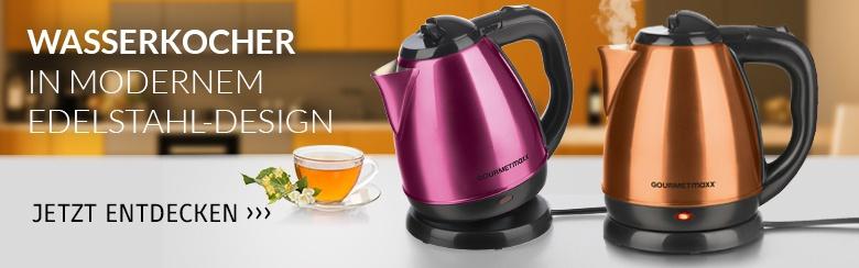gourmetmaxx Wasserkocher