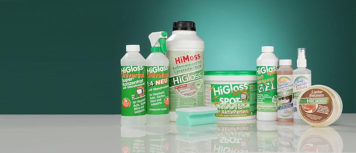 Produktreihe von Higloss Universal