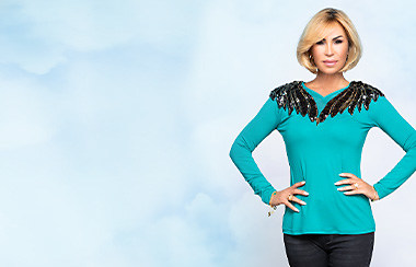 Mit Shirts von Ricarda M. immer gut angezogen sein - jetzt bei Channel21 entdecken.